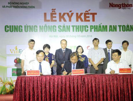 Khach hao hung voi nong san thuc pham sach tai le ky ket cua 15 DN - Anh 8