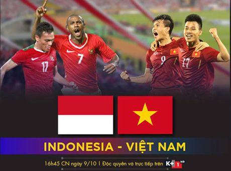 K+ truc tiep tran DT Indonesia - DT Viet Nam - Anh 1