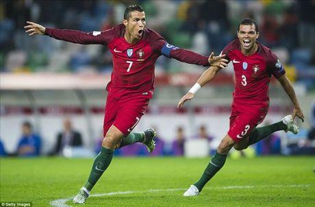 Cristiano Ronaldo ghi 4 ban, Bo Dao Nha nghien nat Andorra - Anh 1