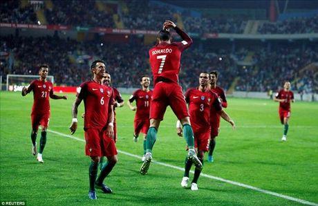 Cristiano Ronaldo ghi 4 ban, Bo Dao Nha nghien nat Andorra - Anh 4