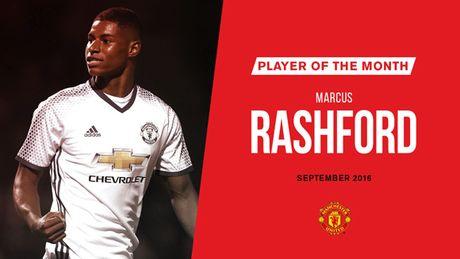 Vuot cac dan anh, Marcus Rashford duoc vinh danh o MU - Anh 1