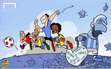 Biem hoa Ramos va Buffon gay hoa cho doi nha - Anh 3