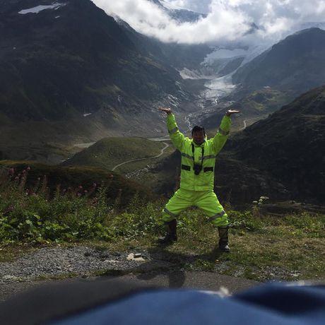 Nam thanh nien vuot 18.000 km den Duc bang Honda Super Cub - Anh 2