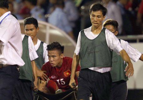 Rach day chang, dap sun chem, Que Ngoc Hai so bo AFF Cup - Anh 1