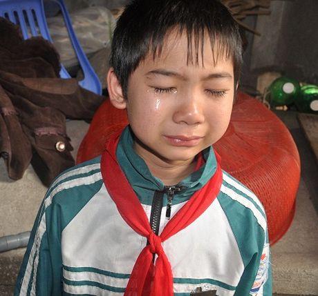 Thuong tam: Cau be lop 7 o Thanh Hoa viet don xin thoi hoc vi nha het gao - Anh 6