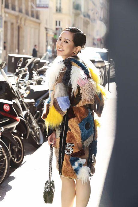Tram Nguyen bung no trong ngay cuoi Paris Fashion Week - Anh 6