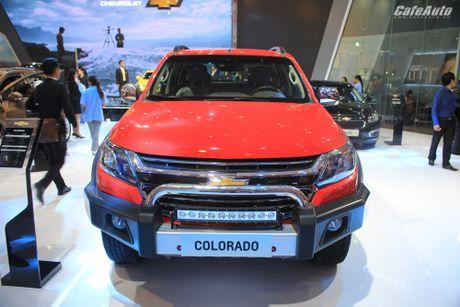 Chevrolet Colorado 2017 chot gia tu 619 trieu dong - Anh 1