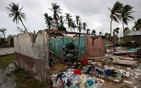 """Bao Matthew """"can quet"""" lam 800 nguoi Haiti thiet mang - Anh 1"""