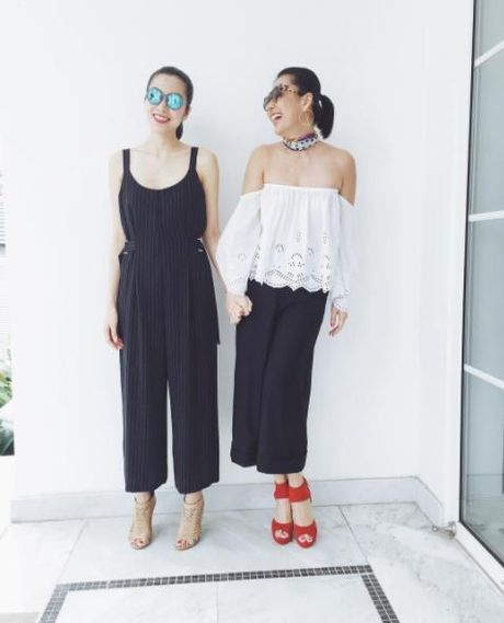 Street style: Sao Viet xung xinh vay ao ngay thu day cuon hut - Anh 10