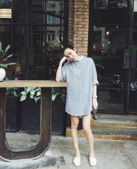Street style: Sao Viet xung xinh vay ao ngay thu day cuon hut - Anh 9