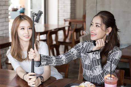 'Kim Tae Hee Viet Nam' Chi Pu than thiet voi 'ban sao Kim Tea Hee' Jiyeon (T-ara) - Anh 5
