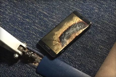 Galaxy Note 7 'an toan' phat no tren may bay - dau cham het cho Samsung - Anh 1