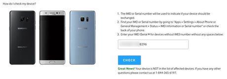 Galaxy Note 7 'an toan' phat no tren may bay - dau cham het cho Samsung - Anh 3