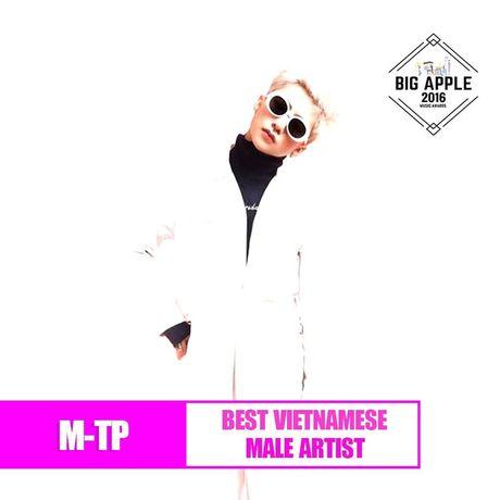 Dong Nhi, Son Tung M-TP duoc Big Apple Music Awards vinh danh - Anh 3