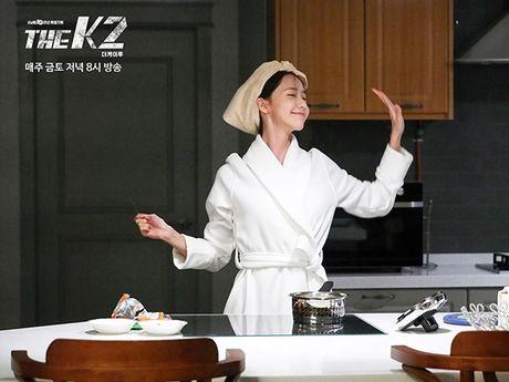K2: Ngam Yoona an mi tom, Ji Chang Wook cuoi tit mat - Anh 7