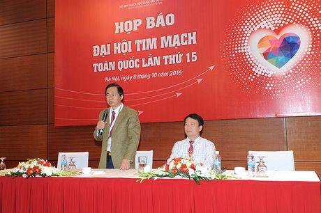 1/4 truong hop tu vong o Viet Nam vi benh tim mach - Anh 1