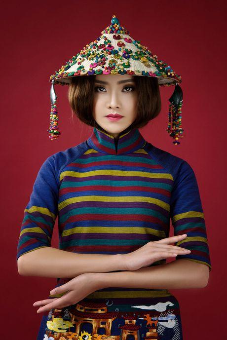 Top 10 Hoa hau Viet Nam To Nhu lam nang tho ao dai - Anh 6