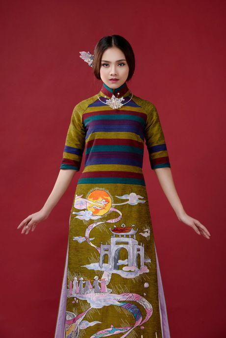 Top 10 Hoa hau Viet Nam To Nhu lam nang tho ao dai - Anh 7