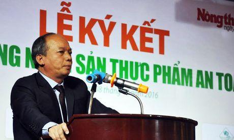 15 dai gia nong nghiep ky cam ket cung ung thuc pham an toan - Anh 1