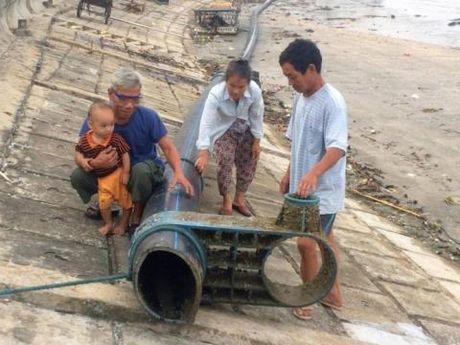 Duong ong nghi dat tu Trung Quoc: Khong biet ho lam gi - Anh 1