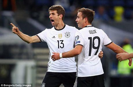 Duc 3-0 CH Sec: Thang de nho Thomas Muller va Toni Kroos - Anh 1