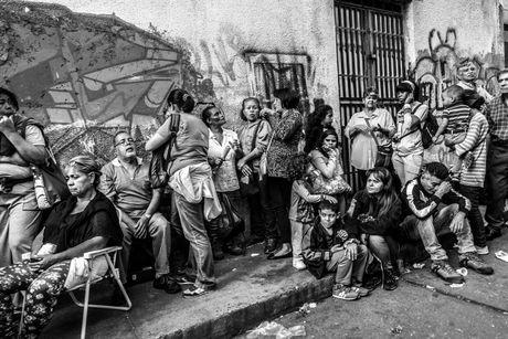 Xot xa canh ngo ngheo doi cua nguoi dan Venezuela - Anh 1