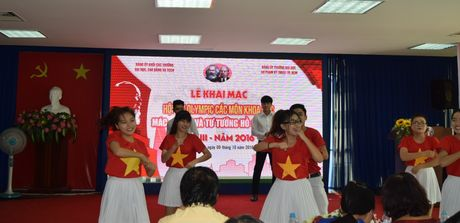 Khai mac Hoi thi Olympic cac mon Khoa hoc Mac-LeNin va tu tuong Ho Chi Minh - Anh 1