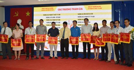 Khai mac Hoi thi Olympic cac mon Khoa hoc Mac-LeNin va tu tuong Ho Chi Minh - Anh 3