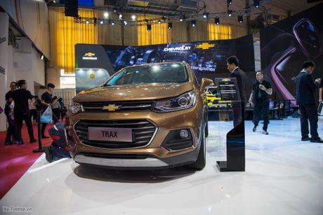 Chevrolet Trax 2017 - Nhua nhin nhu xe 400 trieu, 140 ma luc, gia 769 trieu chua thue - Anh 1