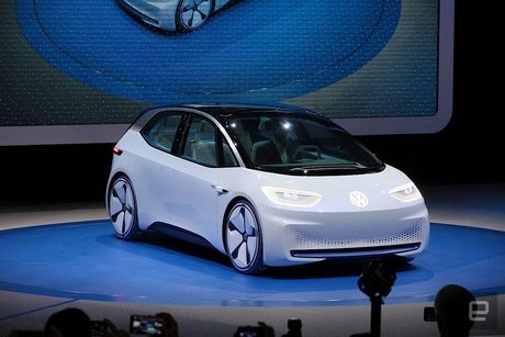 Volkswagen tham vong 'dan than' vao thi truong xe dien - Anh 1