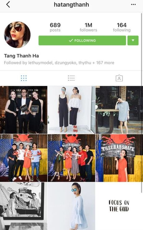 Dung hoat dong showbiz, Ha Tang van can moc 1 trieu nguoi theo doi - Anh 1