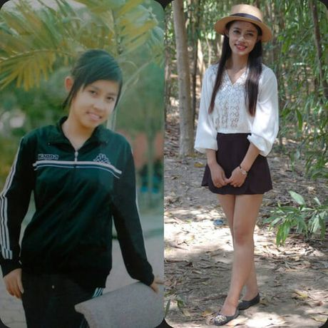 "Bat ngo voi nhung thay doi trong loat anh ""xua -nay"" cua con gai Viet - Anh 4"
