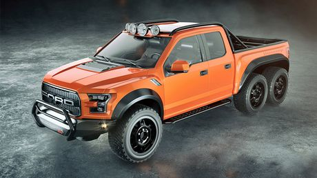 """Chiem nguong """"khung long"""" Hennessey VelociRaptor 6x6 - Anh 3"""