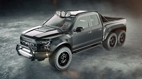 """Chiem nguong """"khung long"""" Hennessey VelociRaptor 6x6 - Anh 4"""