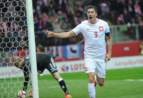 """Lap hattrick, Lewandowski """"sanh ngang"""" Ronaldo - Anh 1"""