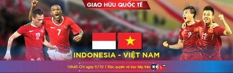 Tran Viet Nam - Indonesia duoc truc tiep tren kenh K+ - Anh 1