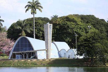 Kien truc su Oscar Niemeyer va quan the Pampulha, Brazil - Anh 2