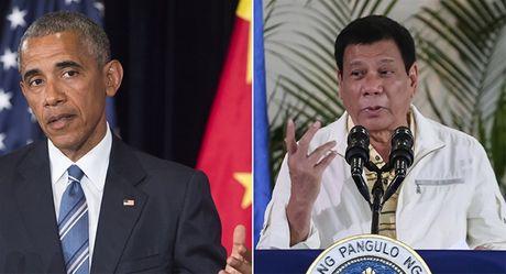 Ong Duterte doa cham dut tap tran voi My, tuyen bo 'dung xem chung toi nhu tham chui chan' - Anh 1