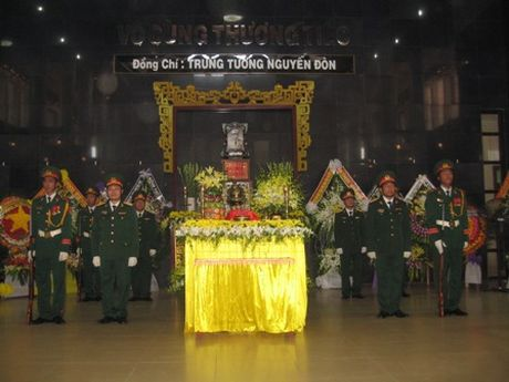 Truy dieu dong chi Trung tuong Nguyen Don - Anh 1
