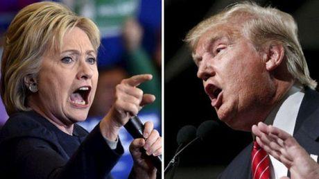 Ba Clinton se cong kich binh luan tho tuc cua Trump trong tranh luan tay doi - Anh 1