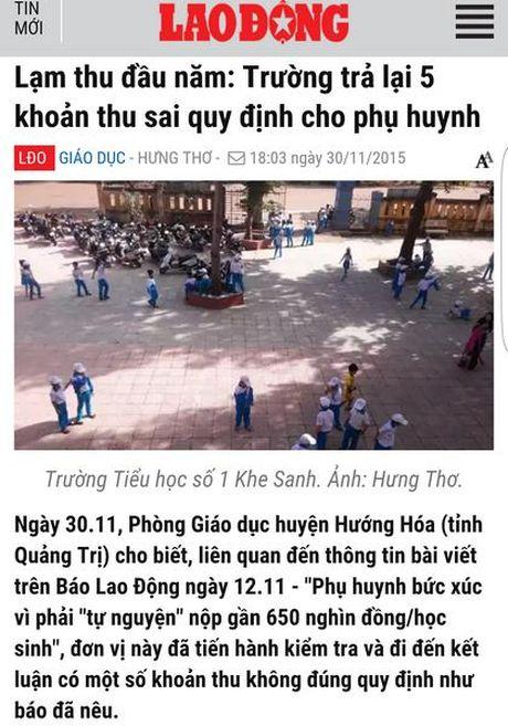 Lam thu dang nup bong cac khoan 'tu nguyen' o truong hoc? - Anh 1