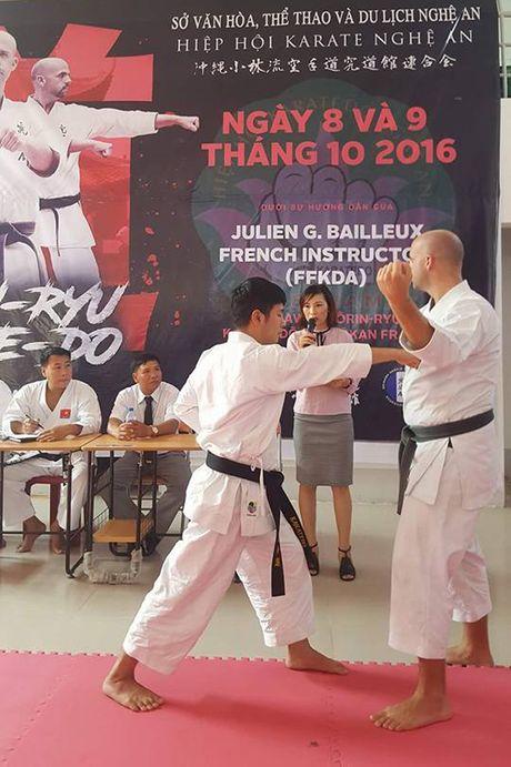 Co hoi vang cho nguoi dam me bo mon Karatedo - Anh 1