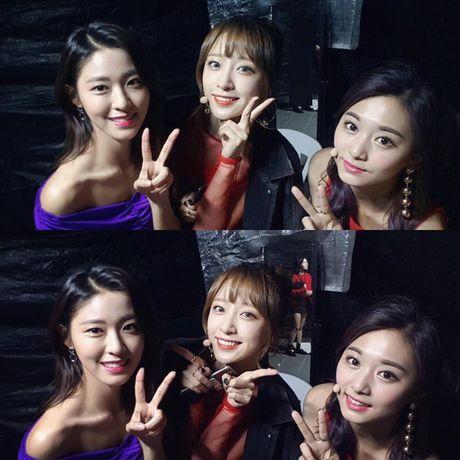 Ba my nhan the he moi Seolhyun, Hani va Tzuyu khi dung canh nhau, ai dep hon ai? - Anh 1