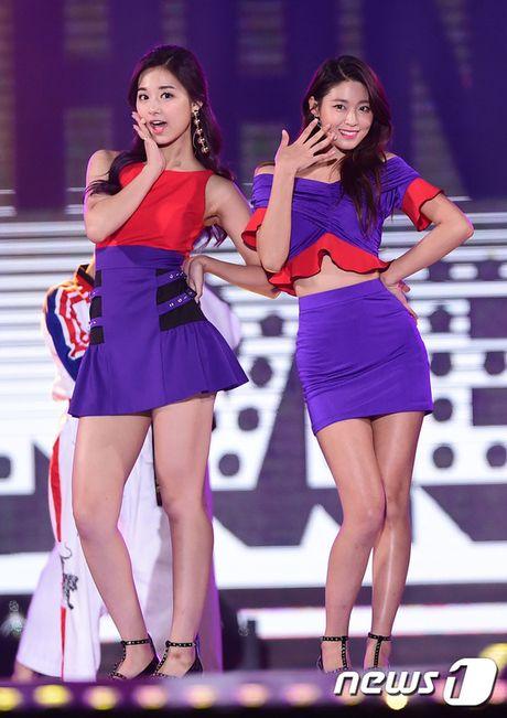 Ba my nhan the he moi Seolhyun, Hani va Tzuyu khi dung canh nhau, ai dep hon ai? - Anh 6
