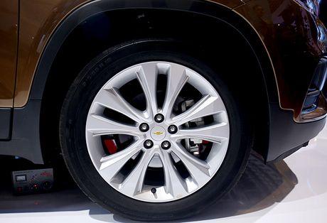 Chi tiet mau SUV do thi Chevrolet Trax 2017 tai Viet Nam - Anh 11