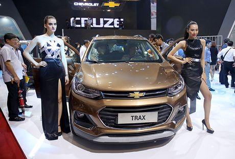 Chi tiet mau SUV do thi Chevrolet Trax 2017 tai Viet Nam - Anh 1
