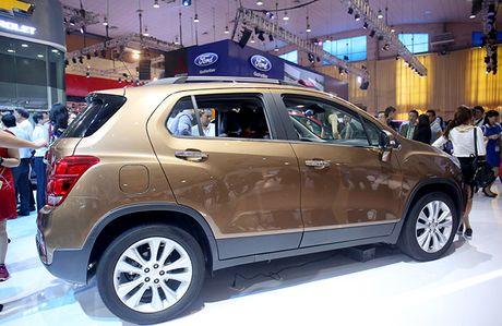 Chi tiet mau SUV do thi Chevrolet Trax 2017 tai Viet Nam - Anh 10