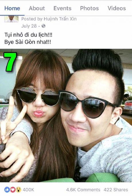 Tran Thanh khoe anh tinh tu voi Hari Won gay bao - Anh 6