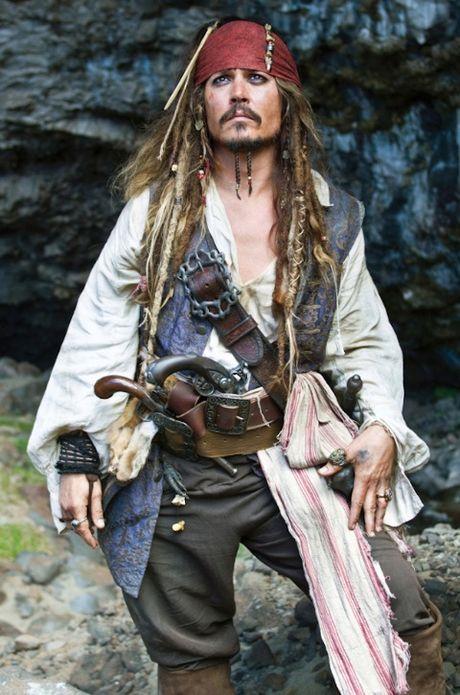 Johnny Depp voi Jack Sparrow: Vai dien sang tao nhat tu sau 'Bo gia' - Anh 1