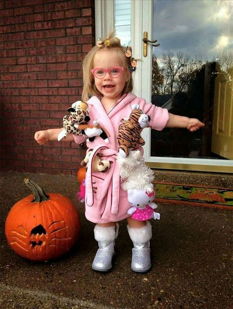 'Dau ruot' xem cac be hoa trang don Halloween - Anh 7